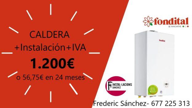 Caldera Sitges Cubelles